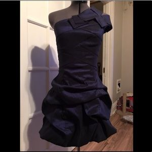 Midnight Blue One Should Cocktail Dress